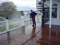 atlanta deck pressure washing